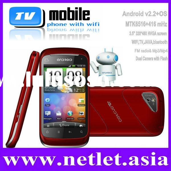 China Newest Android 2.2 Unlocked TV Cell Phone
