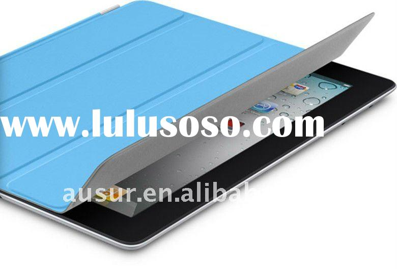 PU smart cover for ipad2