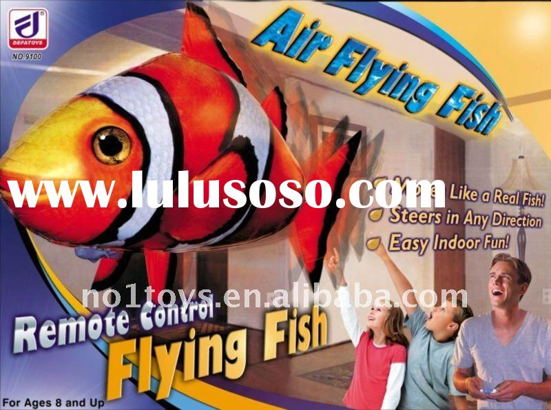 RC inflatable flying fish  2011 hot sale