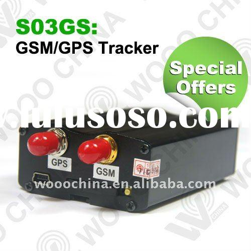 Special offers!CAR alarm Real-time GPS Positioning Remote Monitor Alarm GPS/GPRS/GSM Tracker S03GS