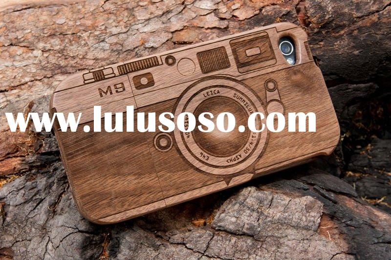 Wood Case for iphone 4, mobile case