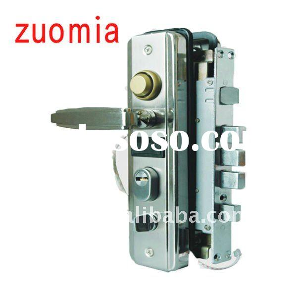electronic door handle lock ,stainless steel door alarm lock, electronic alarm lock