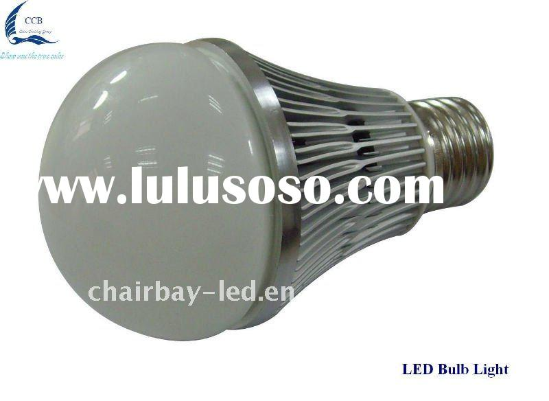 7w led bulb light with aluminum sheel and PC cover 2 years guarantee