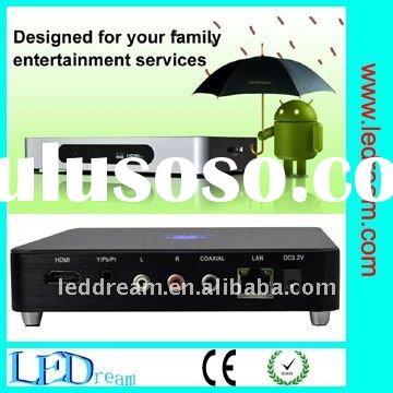 Hot android tv box 2.3