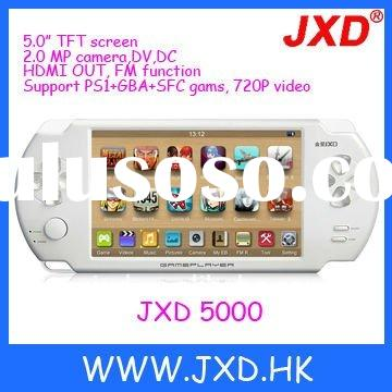 JXD-5000 support PS1, GBA, SFC games