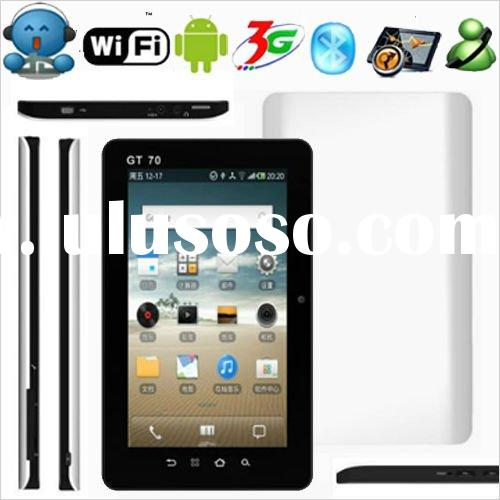 Newest 7 inch tablet pc with 3G Phone GPS Bluetooth and Dual camera