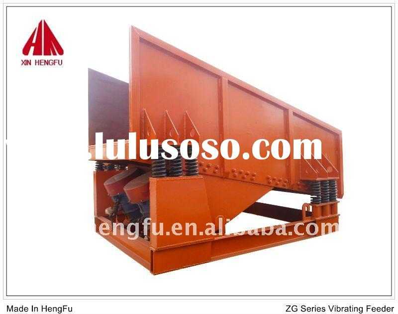 Vibrating feeder manufactures with efficiency mining feeder equipment