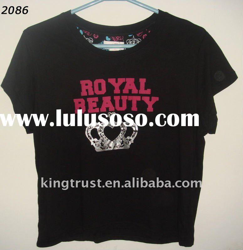 fashion ladies t-shirt