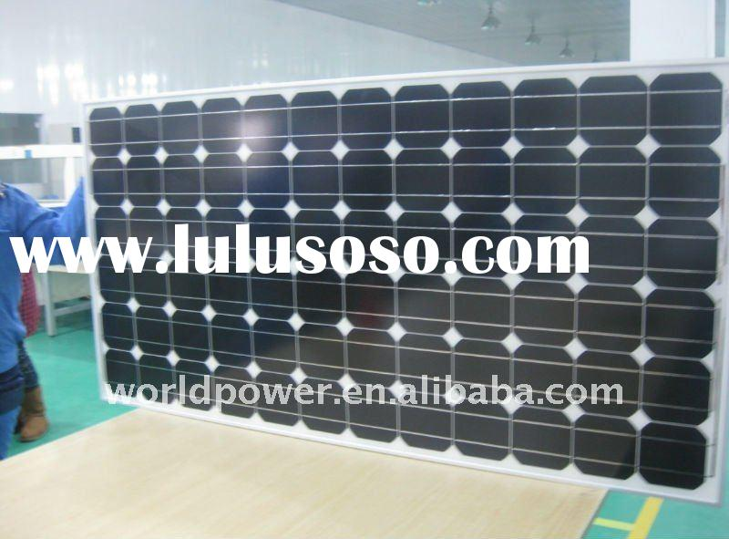 190W Mono Solar Panel with TUV & UL certificate
