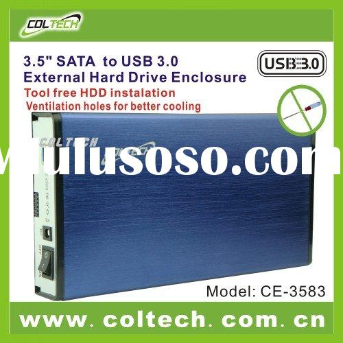 "3.5"" HDD Enclsoure USB 3.0 TO SATA"