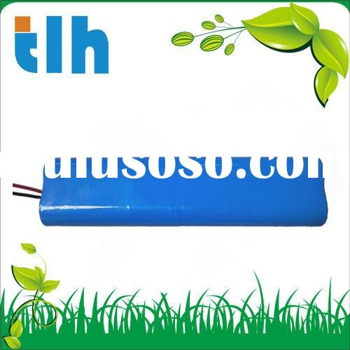 7.4V 4.4Ah 18650 rechargeable lithium battery pack for LED flashlight