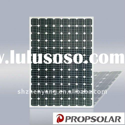 High efficiency Mono solar panel 250W with TUV and Product INSURANCE