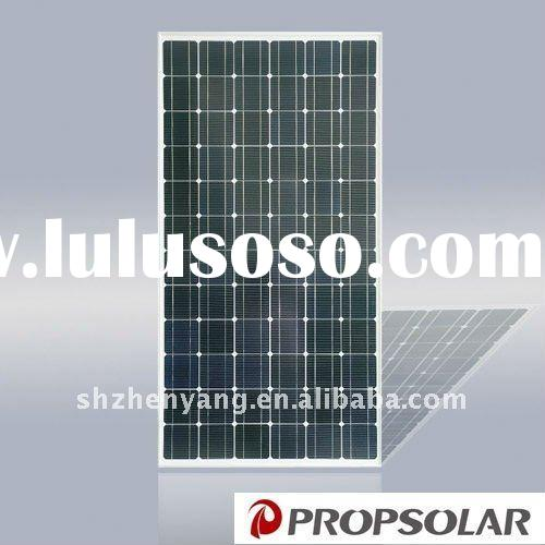 Higher efficiency 195W solar energy product system with TUV and Product INSURANCE
