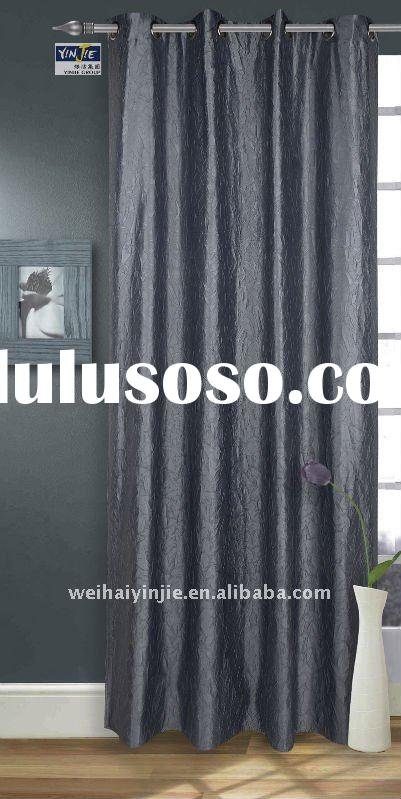 Hot sale& black-out curtain/ window panel/drapes--YJ201070