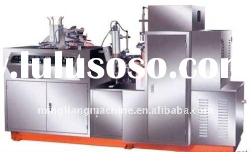 Pure stainless steel paper cup machine
