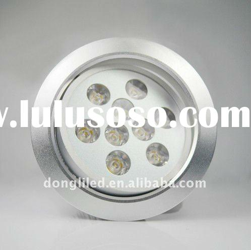 High quality 9W Aluminum Led downlight