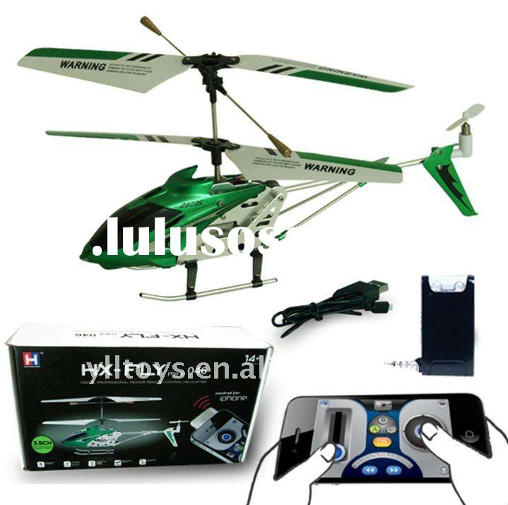 Iphone 3ch remote control helicopter (Gyro)