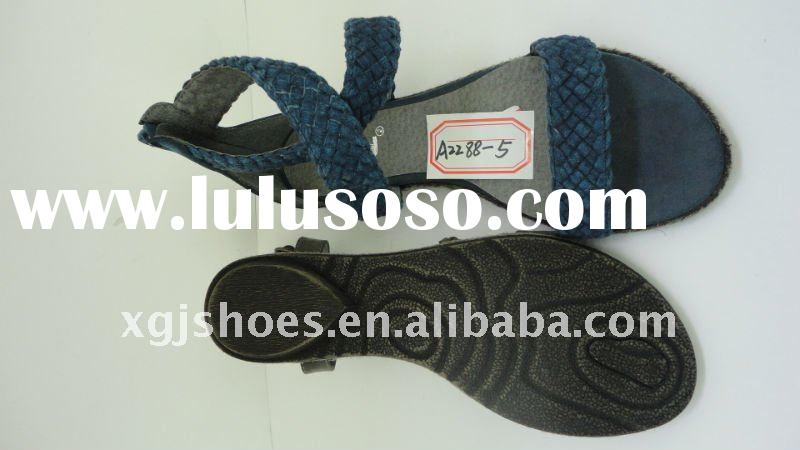 Women Sandals with Woven Strap