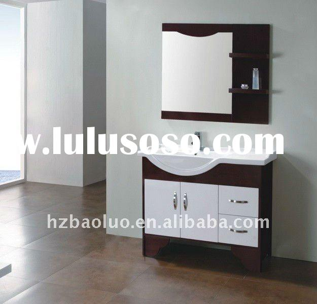 bathroom cabinet,wood bathroom vanity,solid wood cabinet