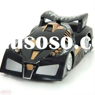 new design high quality wall climbing rc car black color