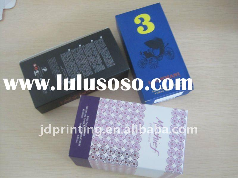 paper box for package cosmetic,gift box