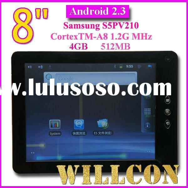 """8"""" Android 2.3 Samsung S5PV210 1.2Ghz Cortex A8 Tablet PC"""