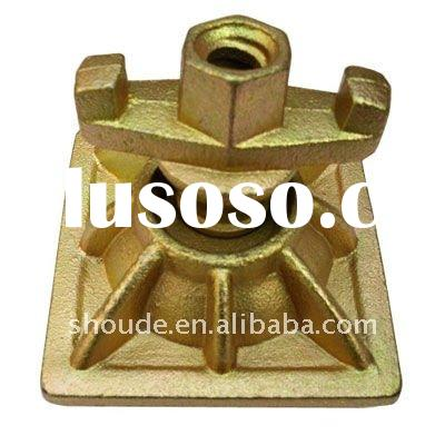 ductile iron anchor wing nut