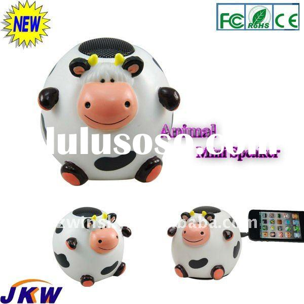 2011 fashionable promotion gift- cow mini speaker