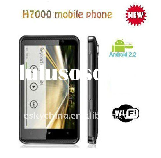 4.3 inch capacitive screen H7000 WIFI android phone