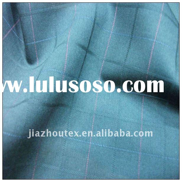 65/35 NEW fashion TR  mens suiting fabric  with selvedge