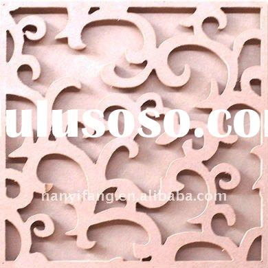 Carved MDF decorative wall panel