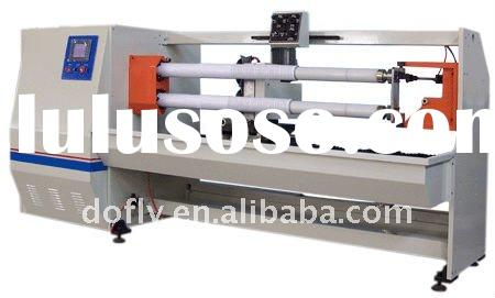 Dofly high precise film cutting machine with two shafts