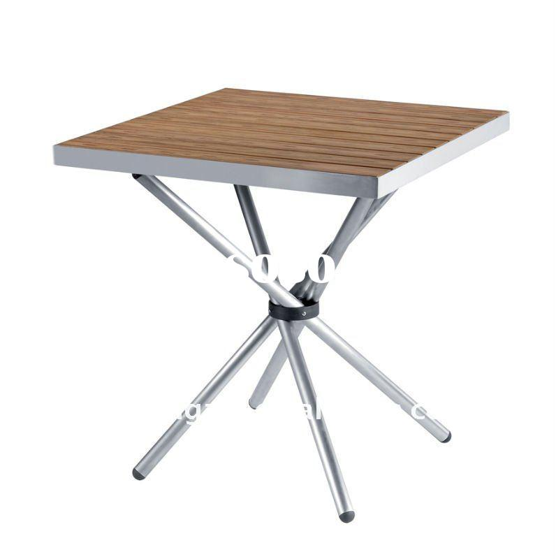 Wood Color Outdoor Table