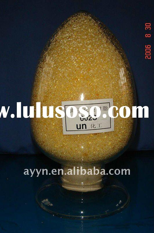 high quality 002S get-type anion Exchange Resin
