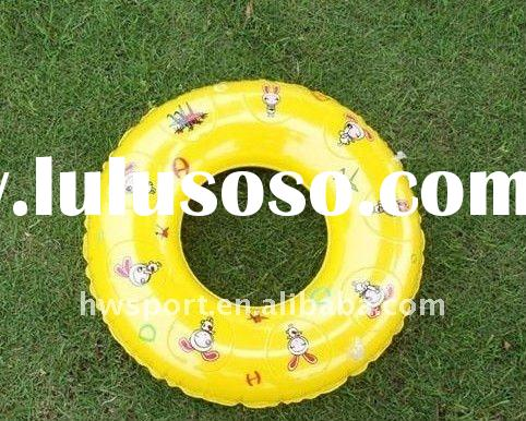 inflatable pvc kids swimming ring