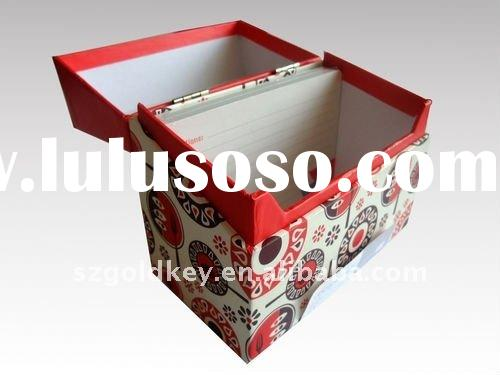 newest paper recipe box