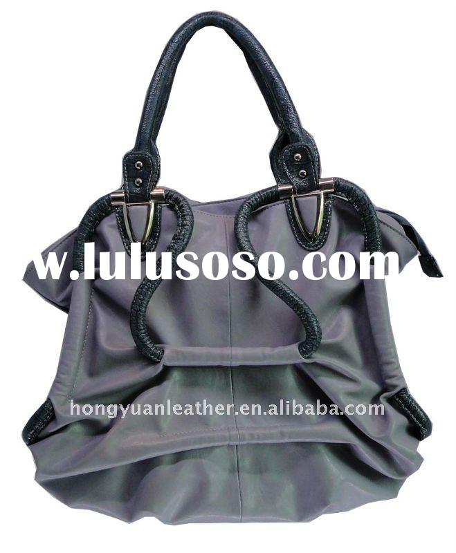 rope handbags ladies pu handbags