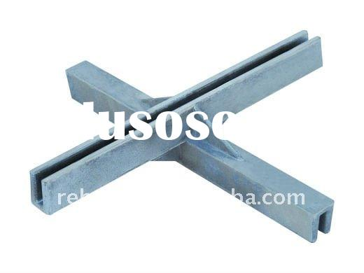 standard aluminum casting cross connection parts for sign plate