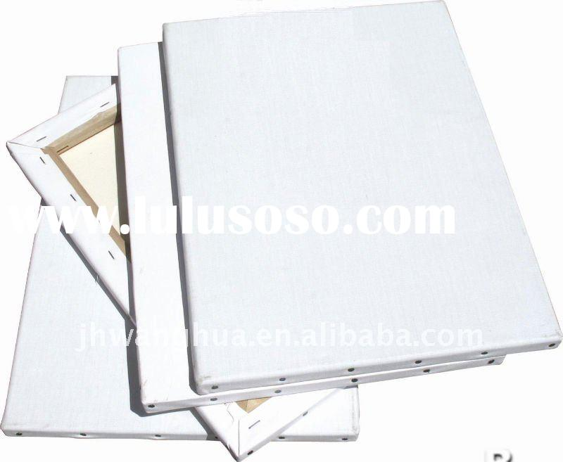 stretched canvas, for painting, 100% cotton canvas