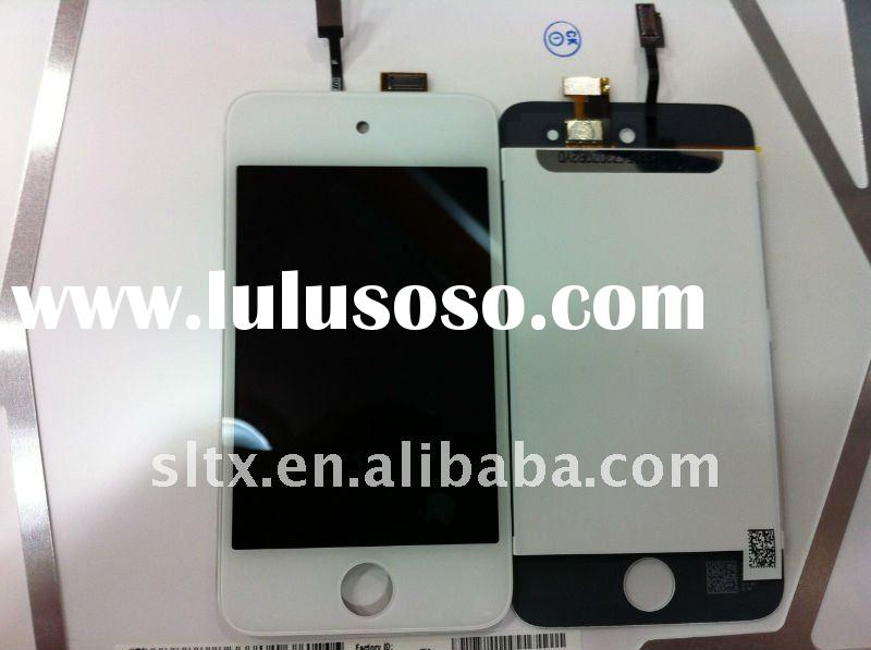 100% High quality White LCD Touch Screen Digitizer for ipo d touch 4th gen