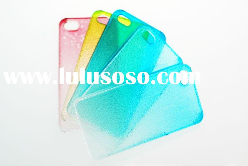 2011 Water drops color gradient case for iphone 4g