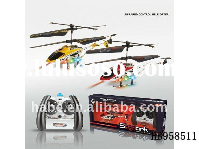 3.5chu rc helicopte with night lights navigation and gyro, rc toys, educational toys