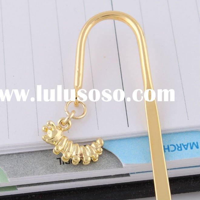 Factory direct sale alloy bookmark