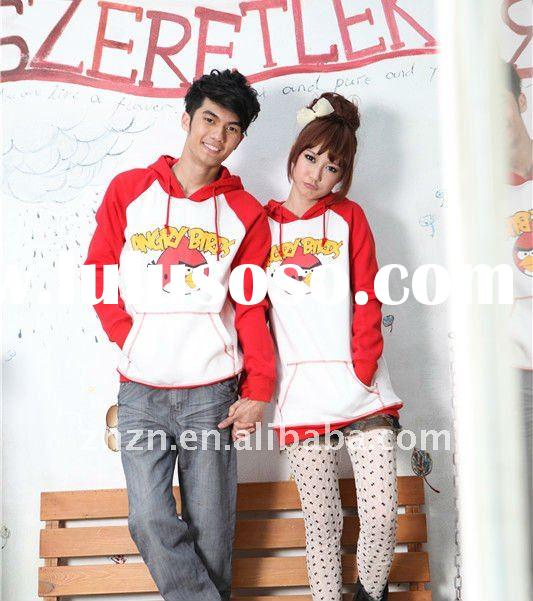 Latest designer hoody for lovers with cute pattern
