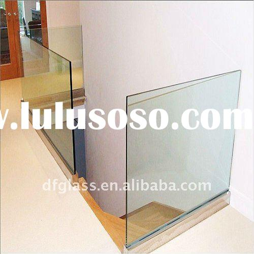 clear toughened glass panel