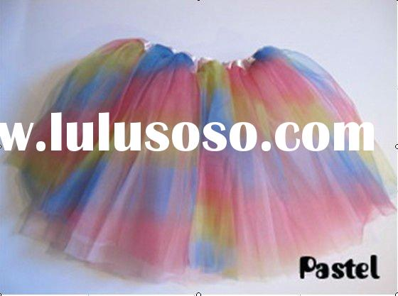 color baby skirts