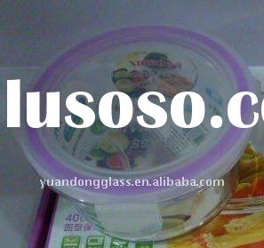 high borosilicate heat resistant large capacity glass containers