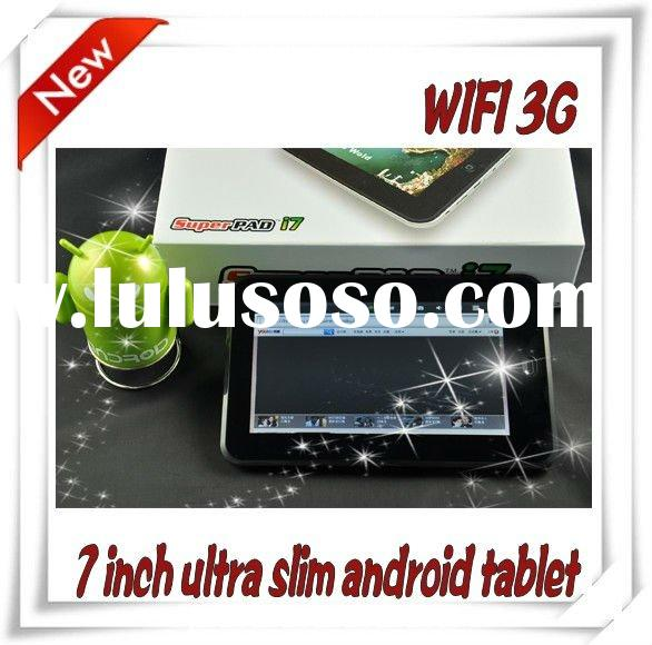 ultra slim!! wifi 7 inch  tablet pc android 2.2