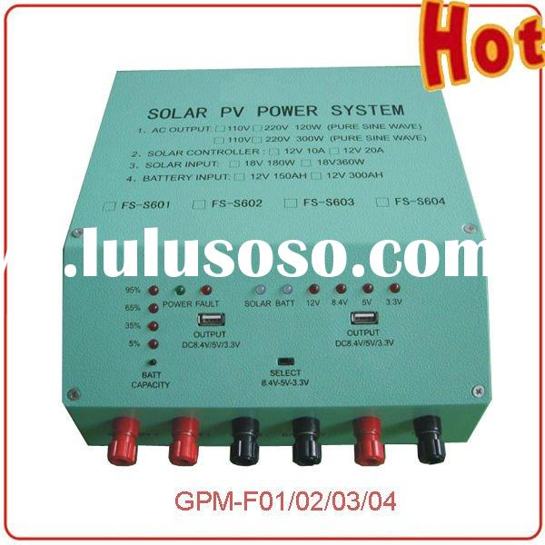 GP Wholesale 120W to 2000W Converter and Controller incorporated machine for solar system