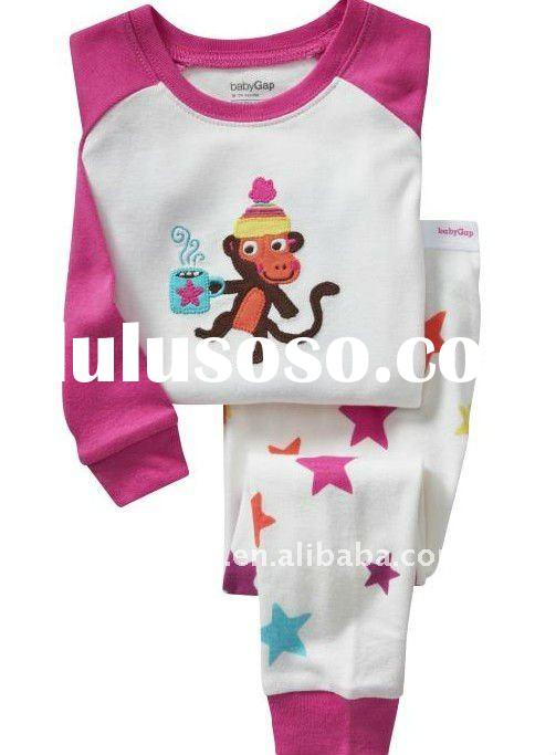 Long-sleeve Baby Pajamas suit sleepwear